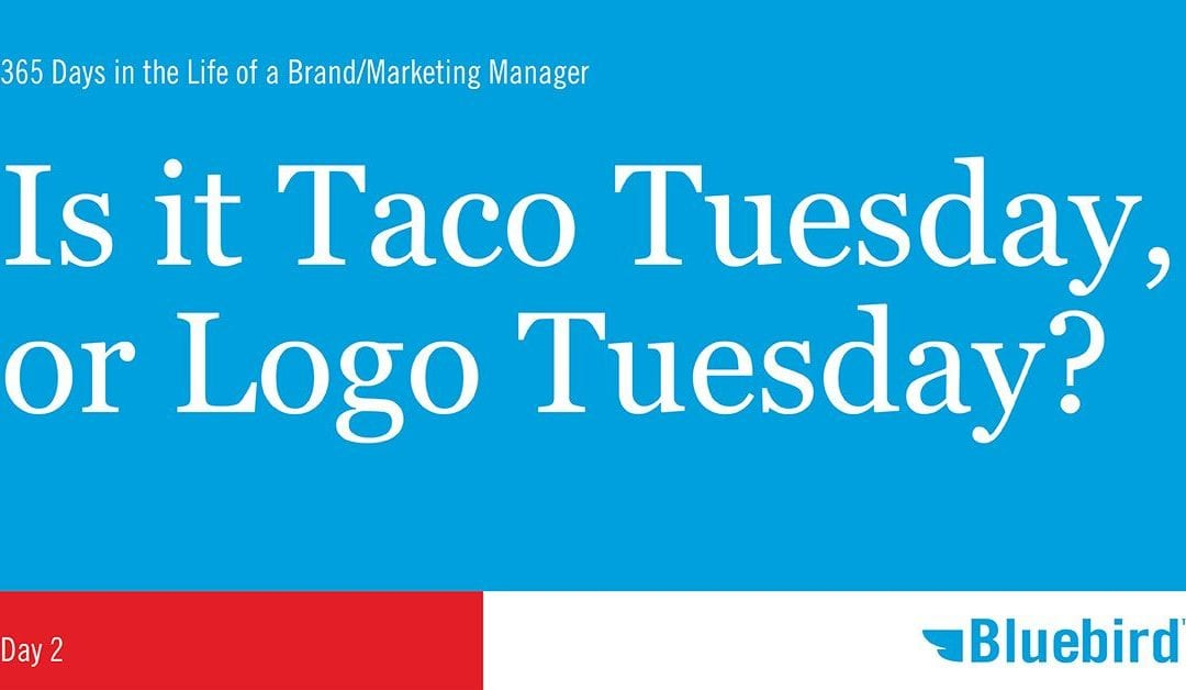 Taco Tuesday? How about Logo Tuesday?